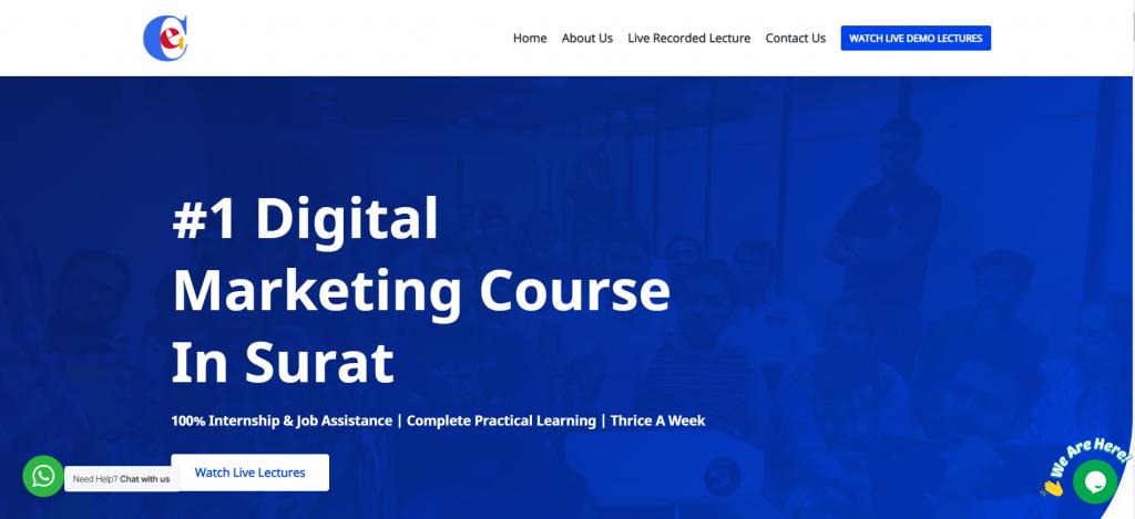 1 Digital Marketing Course in Surat –100 Job Assistance