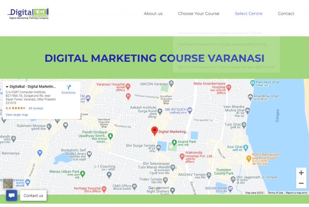 digital marketing course in Varanasi