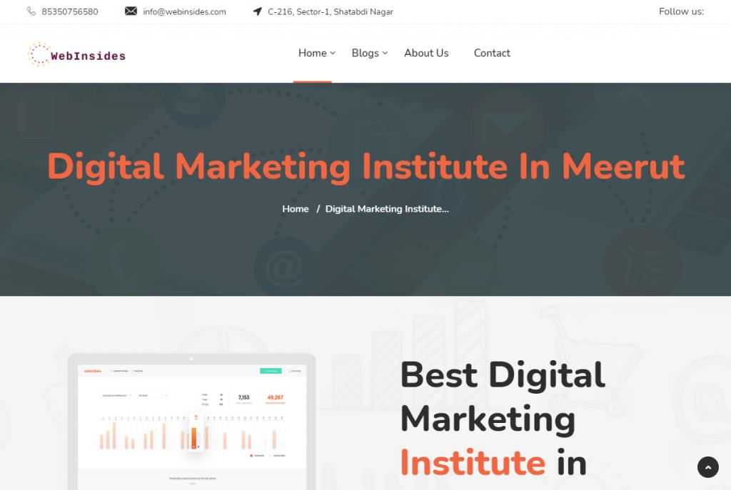 digital marketing course in Meerut