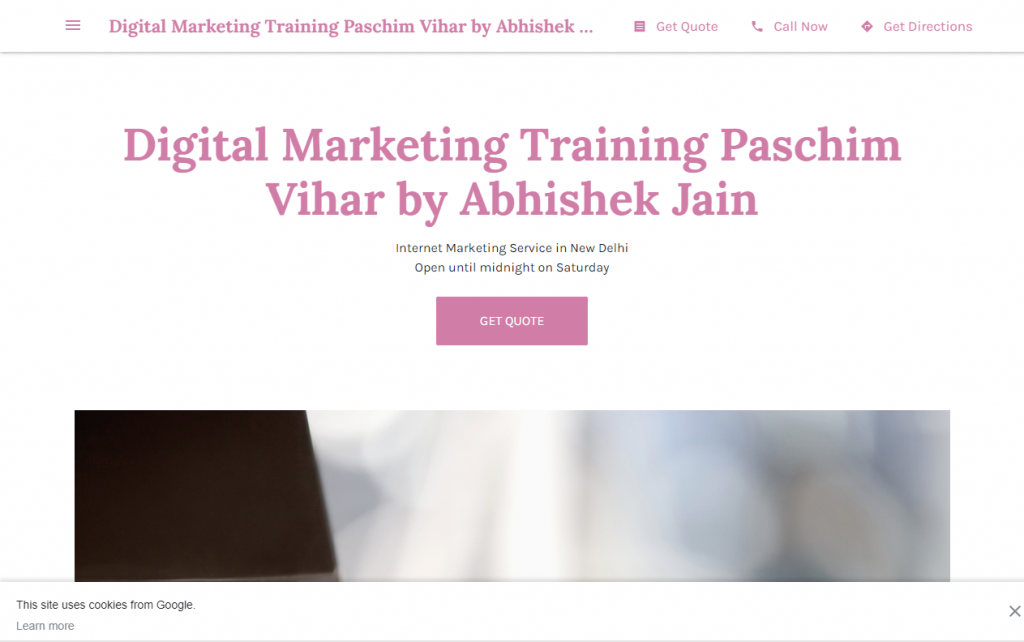 digital marketing course in Paschim Vihar