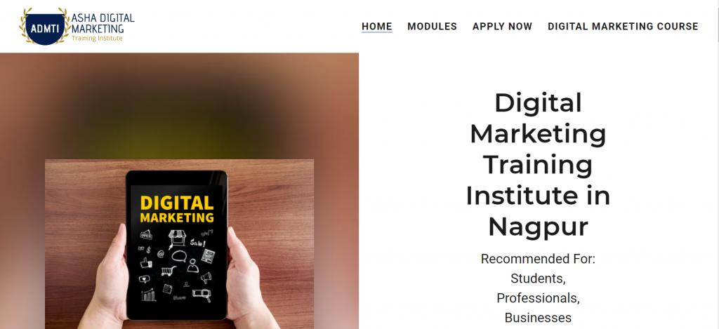 ADMTI Asha Digital Marketing Training Institute