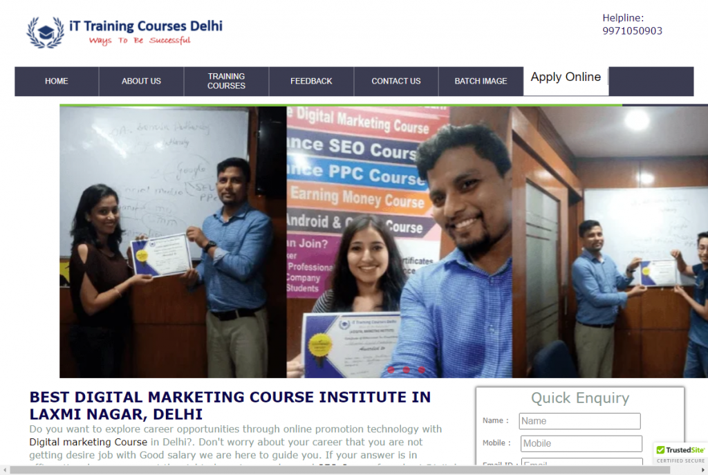 Best Digital Marketing Course Institute Laxmi Nagar New Delhi Fees 15000