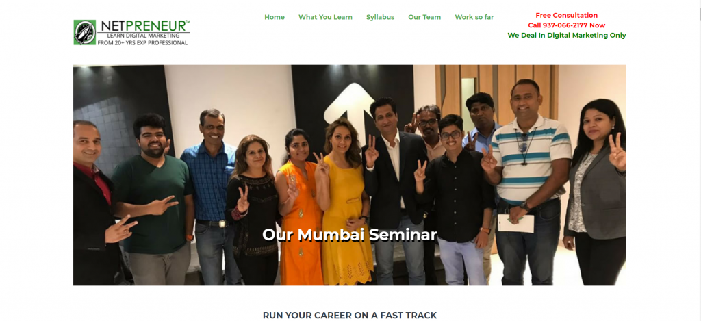 Digital Marketing Course Nagpur – Classroom Based One On One Personal Coaching