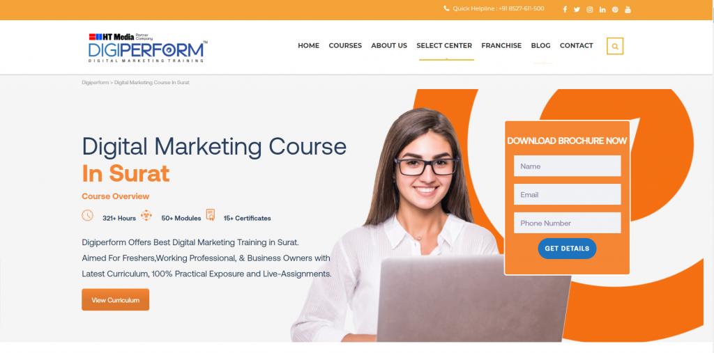 Digital Marketing Training Institute in Surat Gujarat