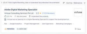 Digital Marketing Job in Hyderabad
