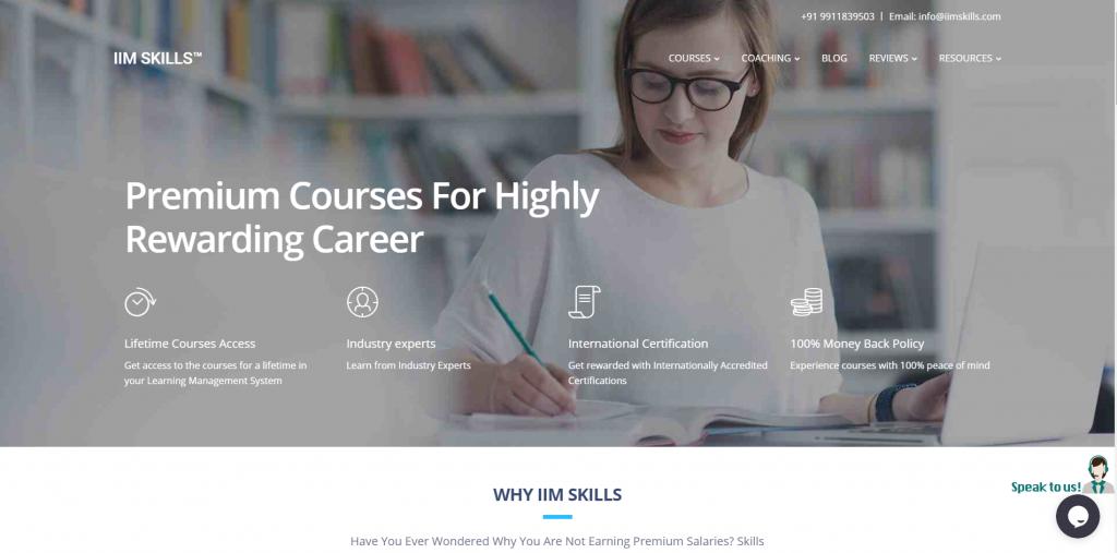 IIM SKILLS A Global Leader in Online Courses Certification Training