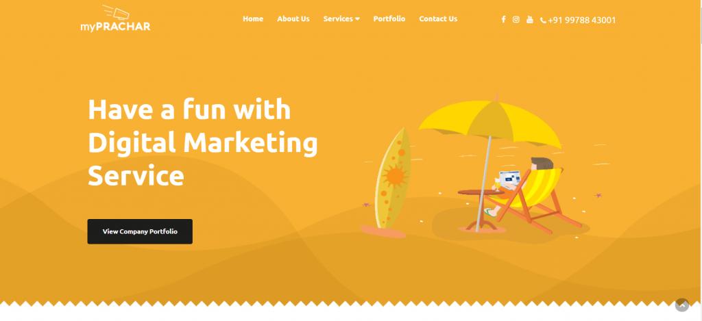 MyPrachar Digital Marketing and Social Media Marketing Company in Surat
