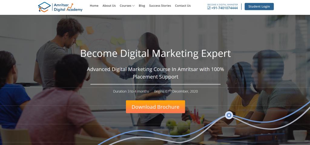 Digital Marketing Course in Amritsar