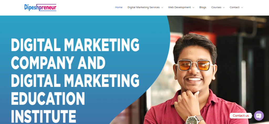 dipeshprenuew For Digital Marketing Course in Vadodara