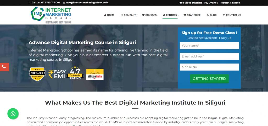 Digital Marketing Course in Siliguri