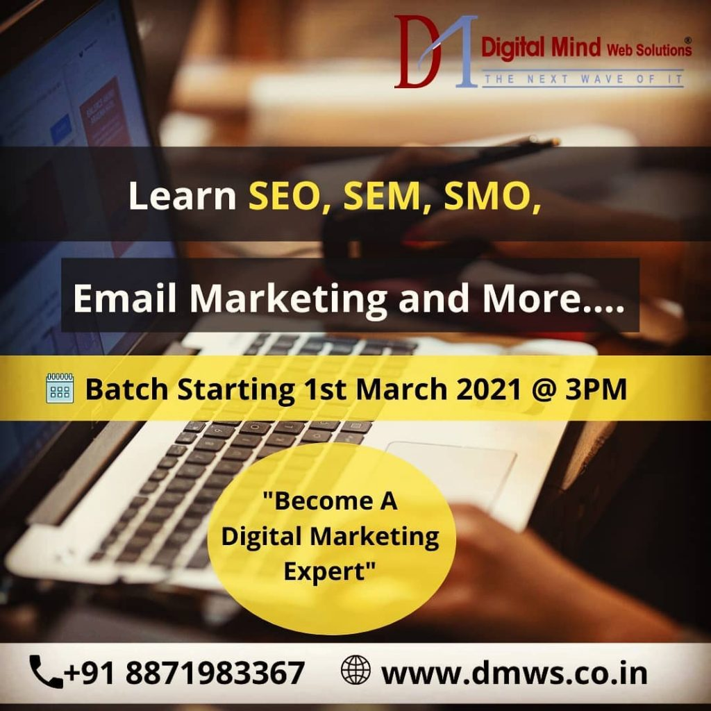 Digital Marketing Course in Indore