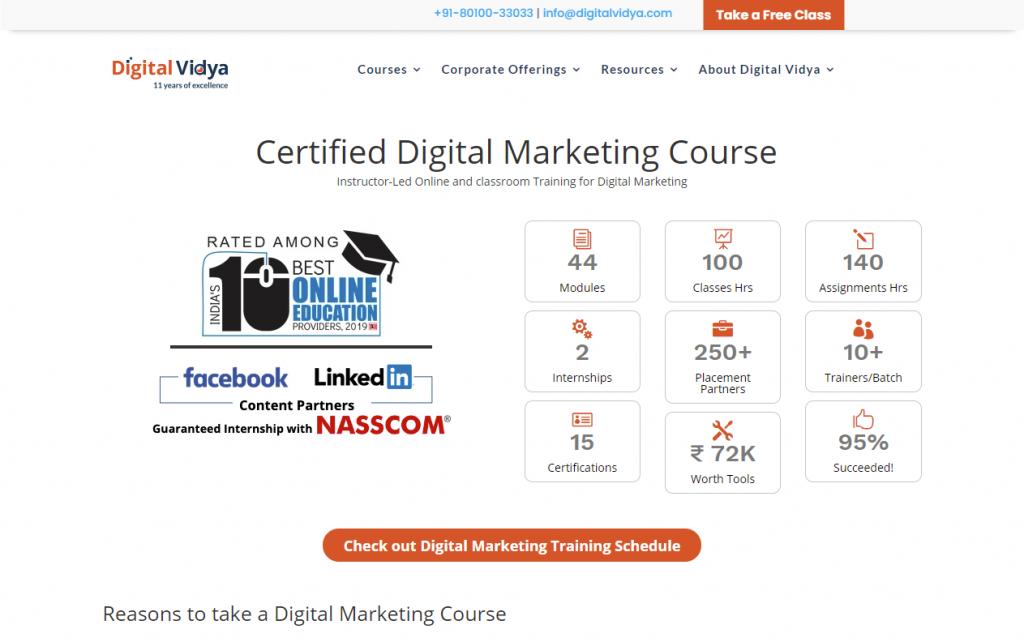 digital marketing course in South Delhi