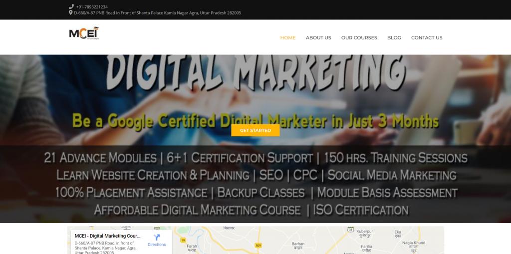 digital marketing course in Agra