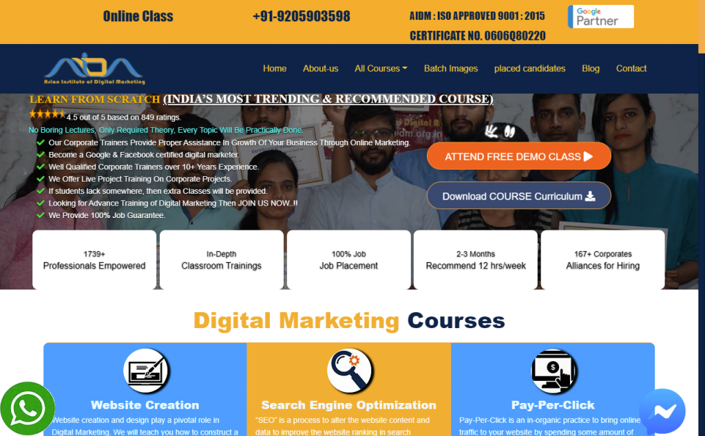 Digital Marketing Course in Nirman Vihar