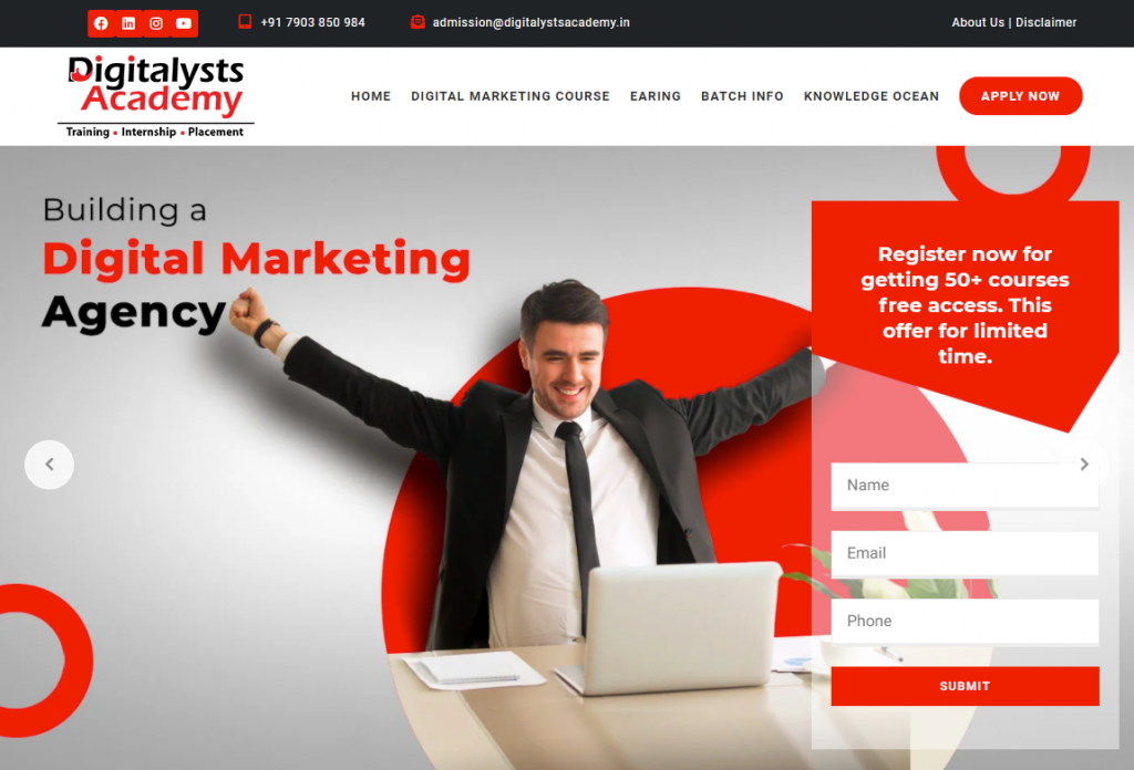 digital marketing course in Jamshedpur