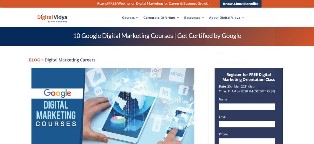 Digital Marketing Course in Karol Bagh