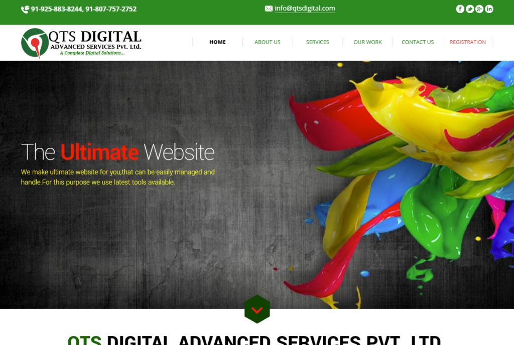 QTS digital service