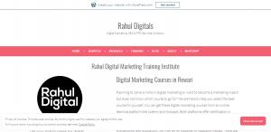 Rahul Digital Marketing Training Institute – Rahul Digitals