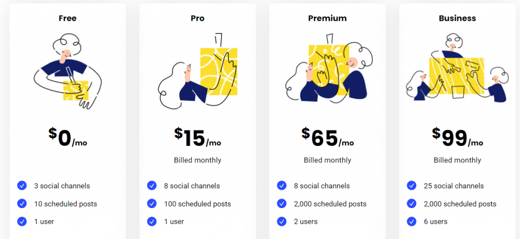 buffer pricing