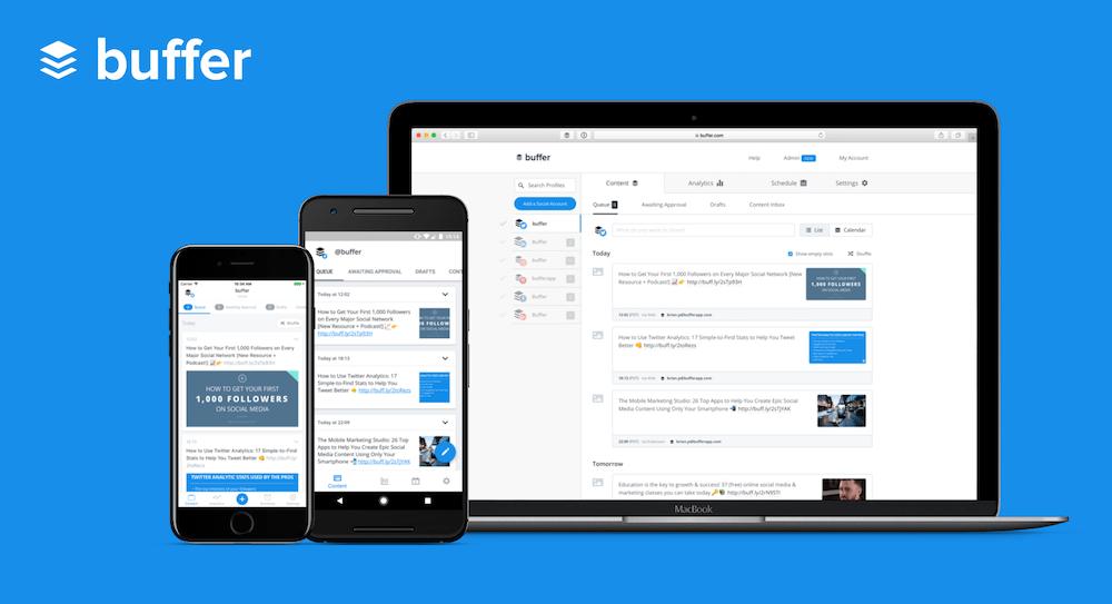 buffer - digital marketing tools