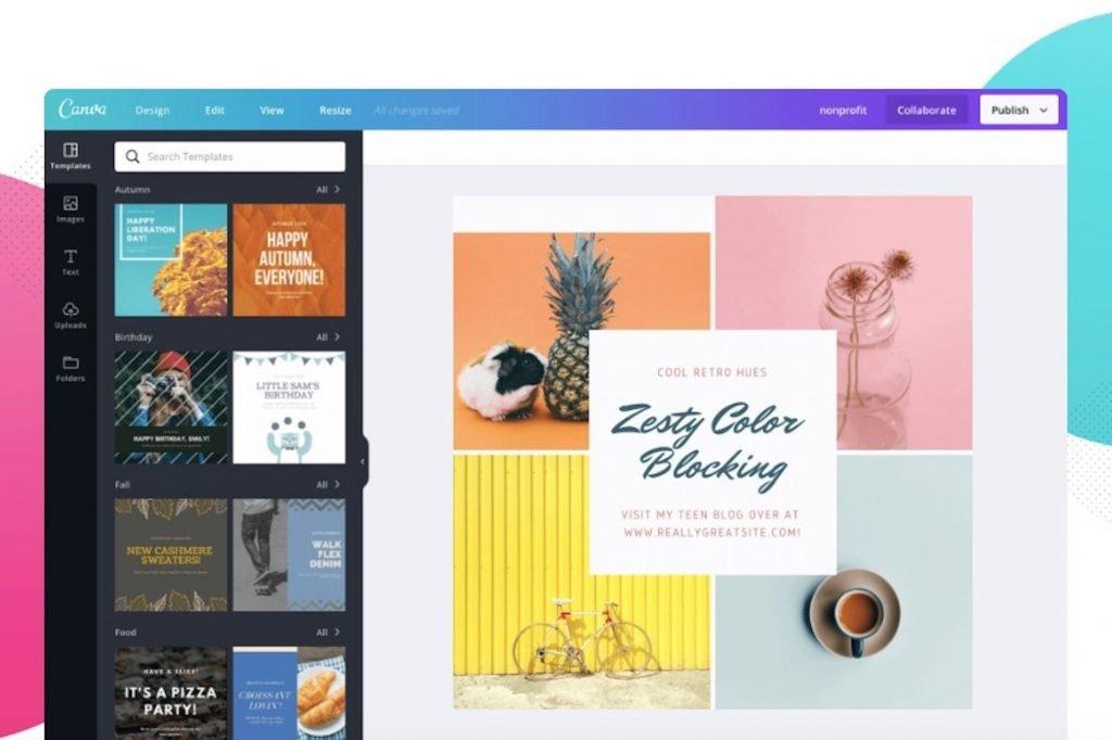 canva - digital marketing tools