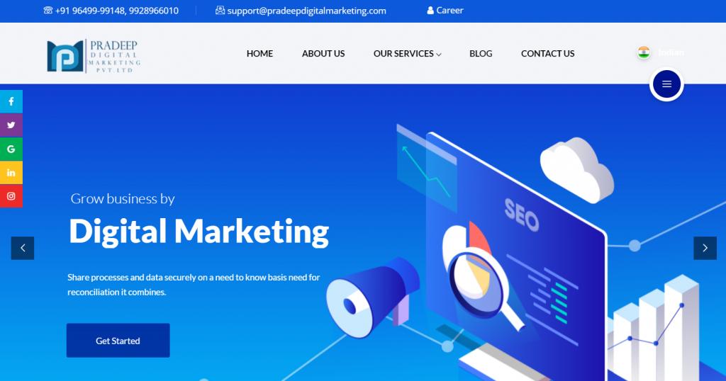 Pradeep digital Marketing